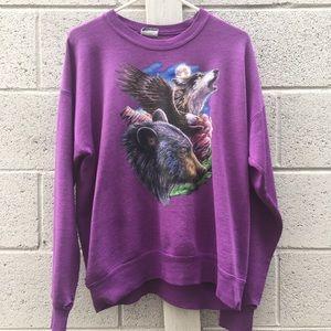 Vintage Crew Neck Sweater